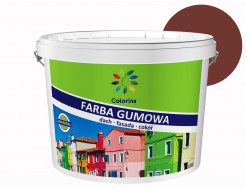 Краска резиновая Colorina для крыш Красно-коричневая RAL 3009