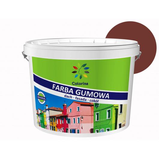 Краска резиновая Colorina для крыш Красно-коричневая RAL 3009 - интернет-магазин tricolor.com.ua