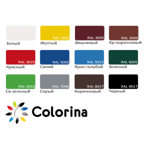 Краска резиновая Colorina для крыш Светло-зеленая RAL 6018 - изображение 2 - интернет-магазин tricolor.com.ua