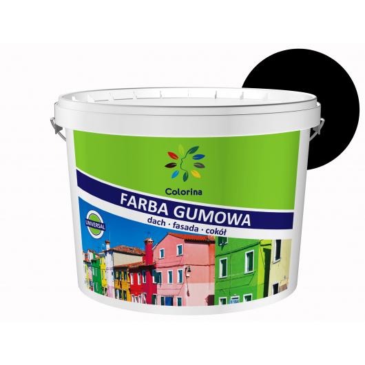 Краска резиновая Colorina для крыш Черная - интернет-магазин tricolor.com.ua