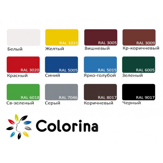 Краска резиновая Colorina для крыш Черная - изображение 2 - интернет-магазин tricolor.com.ua