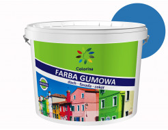 Краска резиновая Colorina для крыш Ярко-голубая RAL 5015