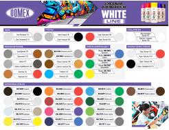 Аэрозоль акриловый Domex White line Черный матовый RAL 9005м - изображение 2 - интернет-магазин tricolor.com.ua