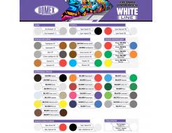 Аэрозоль акриловый Domex White line Белый глянцевый RAL 9010 - изображение 2 - интернет-магазин tricolor.com.ua