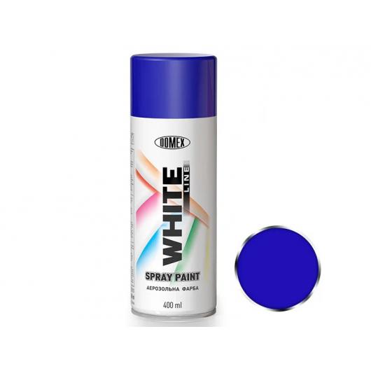 Аэрозоль акриловый Domex White line Синий RAL 5017 - интернет-магазин tricolor.com.ua