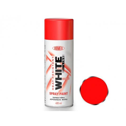 Аэрозоль высокотемпературный Domex White line Красный 124 - интернет-магазин tricolor.com.ua